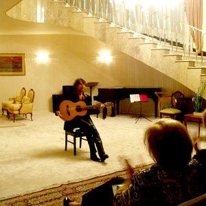 2009.9.21 日本国大使公邸(メキシコシティ)