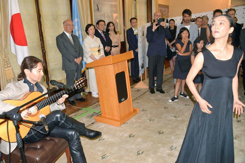 国連日本大使公邸コンサート